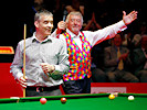 David Rathband with John Virgo